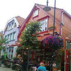 Old town of Stavanger, Norway