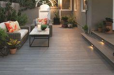 Earthwood Evolutions Capped Composite Decking Planks