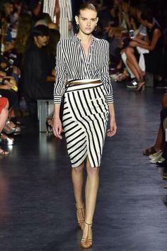 Altuzarra Spring 2015 RTW (That pencil skirt is everything)