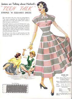 harford frocks fashion card