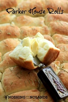 Parker House Rolls by Noshing With The Nolands