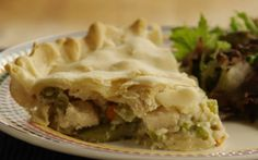 Dad�s Leftover Turkey Pot Pie Allrecipes.com