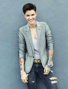 Ruby Rose                                                       …                                                                                                                                                                                 More