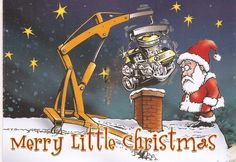 Merry Little Christmas, Christmas Fun, Christmas Cards, Vintage Chevy Trucks, Lowrider Art, 1957 Chevy Bel Air, Garage Art, Cool Cartoons, Christmas Pictures