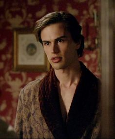 Downton provides another fine example. (Dressing Gown) I like the idea of the quilted velvet interior.