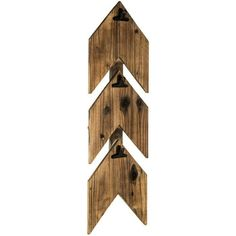 Chevron Wooden Wall Organizer with Metal Clips - Hobby Lobby
