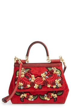 Dolce&Gabbana 'Miss Sicily' Floral Brocade Satchel available at #Nordstrom