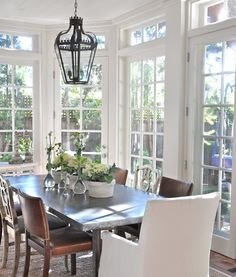 Awesome Sunroom Dining Room Fresh Sunroom Dining Room 16 Design Ideas for Your Home Decorating and Home Remodeling of The Years Sunroom Dining, Dining Table, Dining Area, Zinc Table, Dining Rooms, Dining Chairs, Timber Table, Steel Table, Outdoor Dining