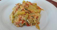 Fabulosa receta para Pisto de Calabacín. Quiche, Alonso, Breakfast, Food, Vegetarian Cooking, Healthy Recipes, Delicious Food, Beverage, Pret A Manger
