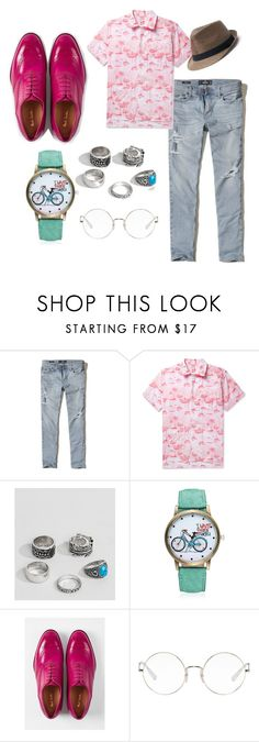 """""""Men's fashion"""" by miloni-jhaveri on Polyvore featuring Hollister Co., Engineered Garments, ASOS, Paul Smith, Ray-Ban, Urban Pipeline, men's fashion and menswear"""