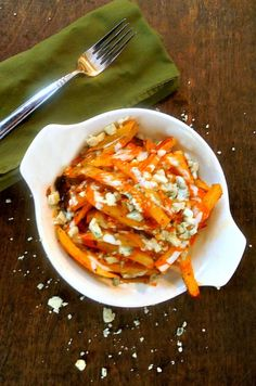 Buffalo Blue Cheese French Fries