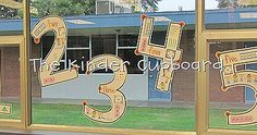 The Kinder Cupboard: Teaching Numbers 1 to 5