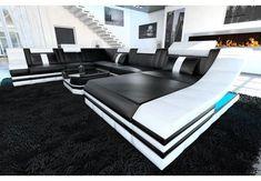 Sofa Dreams Sofa »Berlin«, U Form XXL, Hochwertige Verarbeitung und beste Materialien online kaufen | OTTO Sofa Design, Red Leather Sectional, Designer Couch, Outdoor Furniture Sets, Outdoor Decor, Sun Lounger, Living Room, Home Decor, Monochrome