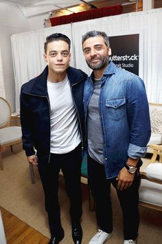 Omg... Rami Malek and Oscar Isaac attend the Variety Studio at TIFF Presented by…