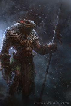 Legend of Lizard by alexnegrea.deviantart.com on @deviantART