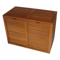 I pinned this Spa Teak Hamper from the New Year's Housecleaning event at Joss and Main! $248.95