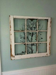 design old windows ideas decorating for best recycled on window frame wall decor idea Old Doors, Windows And Doors, Diy Décoration, Diy Crafts, Crafts Cheap, Cork Crafts, Recycled Crafts, Easy Diy, Deco Champetre