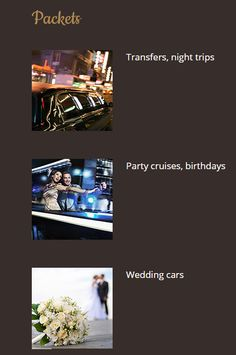 Packets | Fort Lauderdale Limo Service – Limousine rental in Florida
