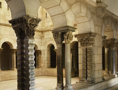 Saint-Guilhem Cloister, late 12th–early 13th century. French. Limestone; 30 ft. 3 in. x 23 ft. 10 in. (922 x 726 cm). The Metropolitan Museum of Art, New York, The Cloisters Collection, 1925 (25.120.1–.134)