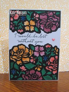 Detailed Floral Thinlits, 2016-2018 In Colour Markers, Floral Phrases, DIY, #stampinup, Handmade card, Stampin Up 2016
