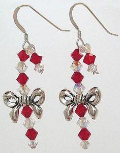 Candy Cane Earrings – Best Buy Beads