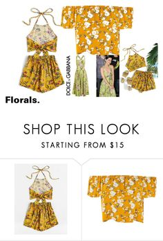 """""""Untitled #1353"""" by jodawkins ❤ liked on Polyvore featuring Dolce&Gabbana"""