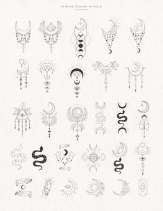 Line Art Design, Graphic Design, Websites Like Etsy, Dainty Tattoos, Crystal Design, Moon Design, Woman Silhouette, Ankle Tattoo, Gold Texture