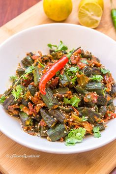 The not-so-loved okra has got all the make-over in this recipe to get at its best with the flavorful Indian spices!