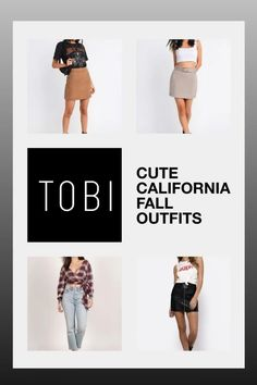 Cute California fall outfits and trendy autumn street style attire for women from TOBI. The best place to buy affordable trendsetting edgy clothing like these cute skirts and tops for ladies. Shop top fall fashion trends for teens, women, and juniors. #shoptobi #fallfashion #falltrends #falloutfits #autumnfashion #womensfashion #californiafashion #streetstyle #streetstyleoutfits Autumn Fashion Women Fall Outfits, Fall Fashion Trends, Fashion 2017, California Fashion, California Style, Edgy Outfits, Swag Outfits, Autumn Street Style, Street Style Women