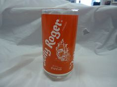 Vintage The Jolly Roger Restaurant Glass- Hawaii- Coca-Cola