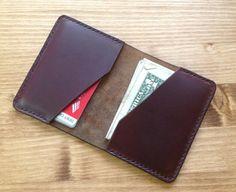 Tan Chromexcel Bifold Leather Wallet