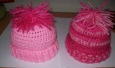 Quick Crochet Newborn Baby Beanie | AllFreeCrochet.com