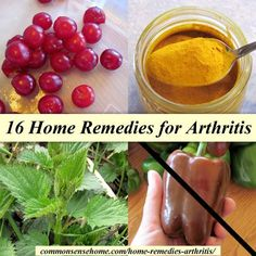 16 Home Remedies for Arthritis - foods to eat and foods to avoid, supplements and lifestyle changes, alternative and herbal therapies for arthritis #arthritisfoodstoavoid