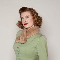 Vintage 1950s Mink Fur Collar #vintage #mink #fur #collar #scarf #winterfashions #1950s #1960s #madmen @Etsy