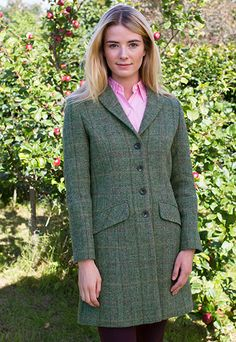 e0e12720224ea Beautiful Harris Tweed Racing coat from Glenalmond Tweed  harristweed Tweed  Clothing