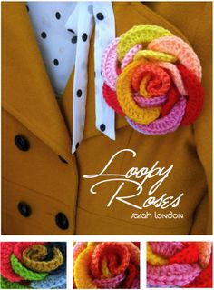 Making Loopy Roses, by @Sarah Chintomby london