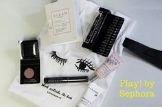 Glazed Over Beauty: Play! by Sephora Clean Fragrance, Beauty Box Subscriptions, Makeup Forever, Lancome, Sephora, Play