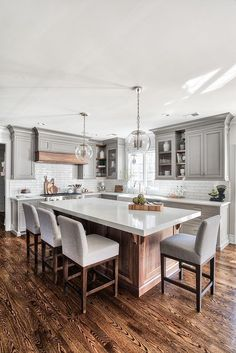 Kitchen Island Ideas - Personalize a kitchen island to suit your personal design, and also make it much more rewarding to prepare as well as captivate. #kitchenislandideas #kitchenideas #graykitchenislandwithseating