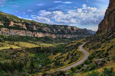 tensleep wyoming | Ten Sleep Canyon  One of my favorite drives.  Canyon is just beautiful