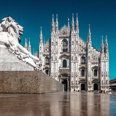 #Duomo azzurro cielo