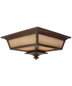 Craftmade Z1317-98 Argent 2 Light Outdoor Flush Mount