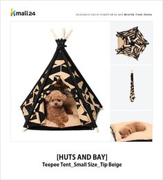 Pet Lovers!  Make a comfortable and cozy shelter for your best friend! ▶ Shop now : http://bit.ly/1BZIHjj Kmall24 #Pets #PetHouse #Puppy