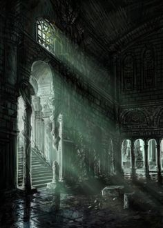 """No one has set foot in the Hall Of Miracles  since the age of the Dragons. This place should never had been found."" Gibble deep voice echoed of the stone walls."