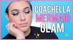 Coachella Inspired - Mermaid Halo Eye Makeup Tutorial   Manny MUA - YouTube