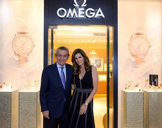 Omega presentó nueva colección en #Bogotá: Seamaster Aqua Terra Ladies' Collection.