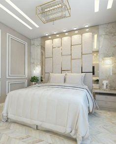 112 clever ideas how to craft modern style bedroom 15 Hotel Bedroom Design, Bedroom False Ceiling Design, Master Bedroom Interior, Bedroom Decor, Modern Luxury Bedroom, Modern Bedroom Design, Luxurious Bedrooms, Bedroom Classic, Bed Headboard Design