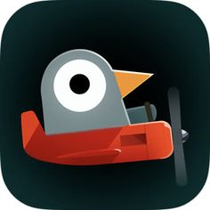 Pigeon Wings by Ignacio Schiefelbein Ipod Touch, App Icon Design, Ipad, Iphone, Pigeon, Wings, Symbols, Logos, Games