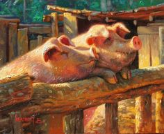 Piggly & Wiggly by Mark Keathley