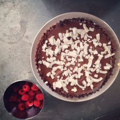 SUGAR FREE Note: To bruise cardamom pods, lightly crush with a flat blade until the outer husk cracks. Plain Ganache Tart variation: Leave out the cardamom and sea sa
