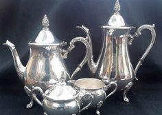 Viners Sheffield Silver Plated tea service by NanaBarbarastreasure